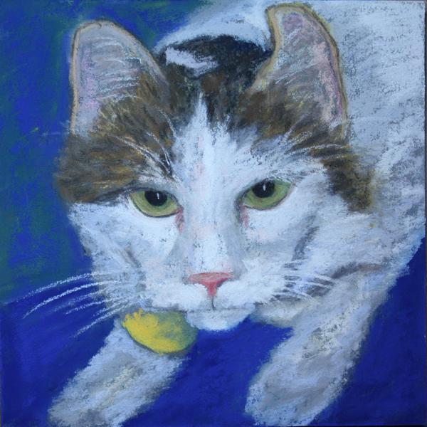 """""""Eddie"""" original fine art by Jane Frederick"""