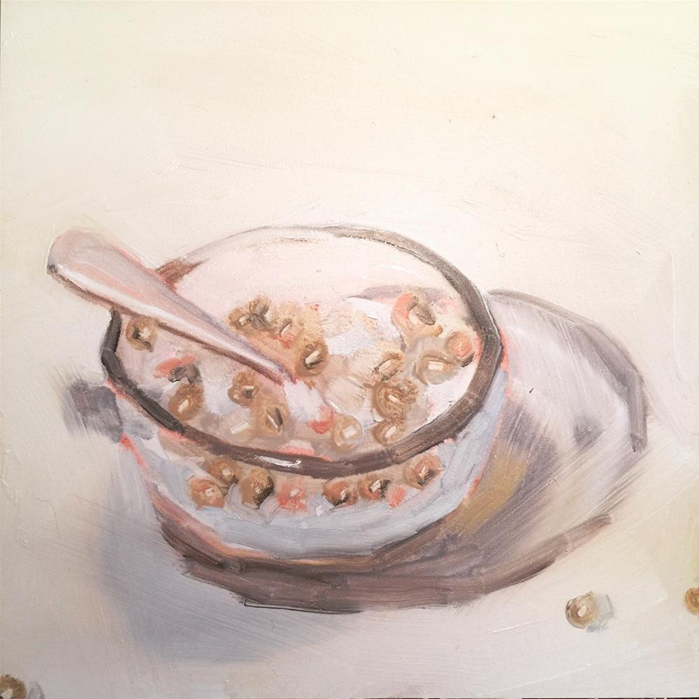 """622 Cheerios"" original fine art by Jenny Doh"