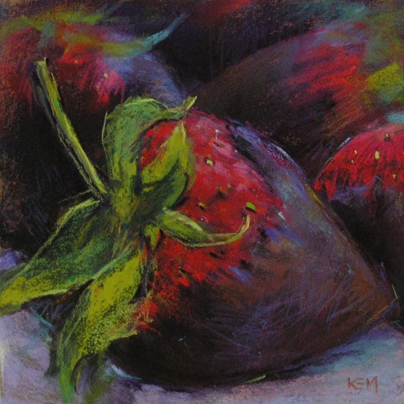 """""""Decadance"""" original fine art by Karen Margulis"""