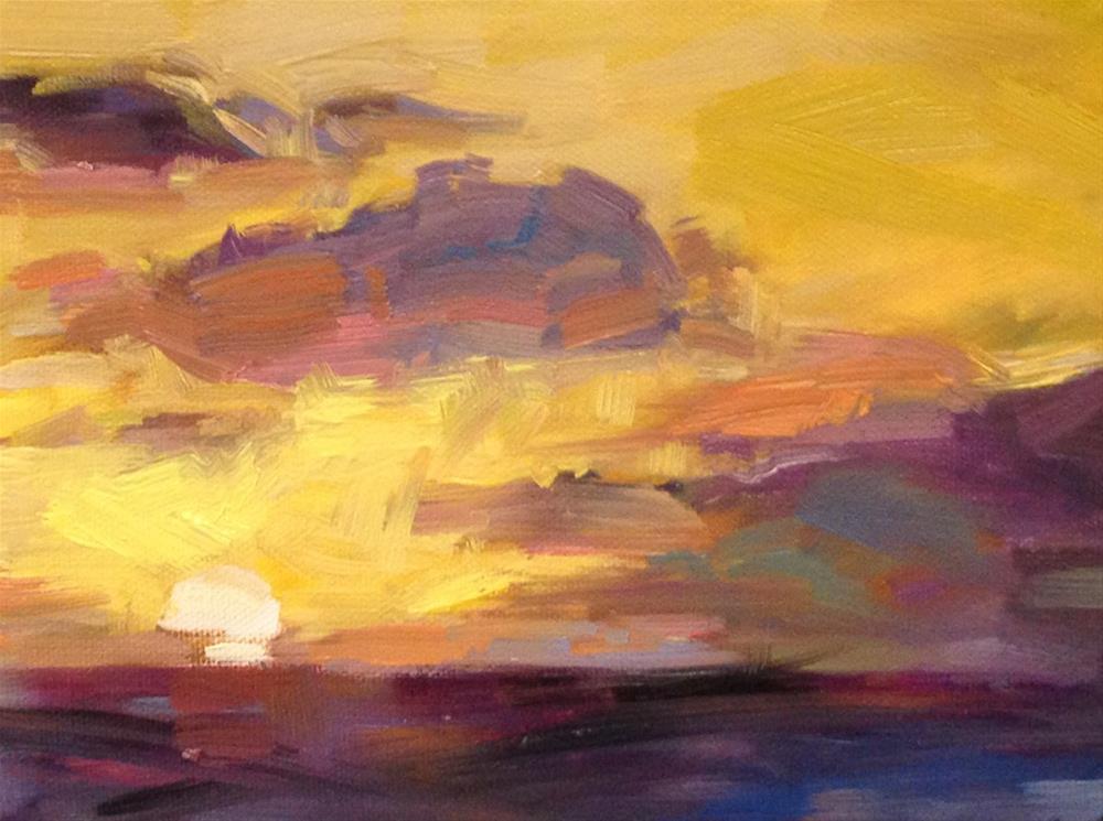 """Ho Hum, it's the Caribbean"" original fine art by Patti McNutt"