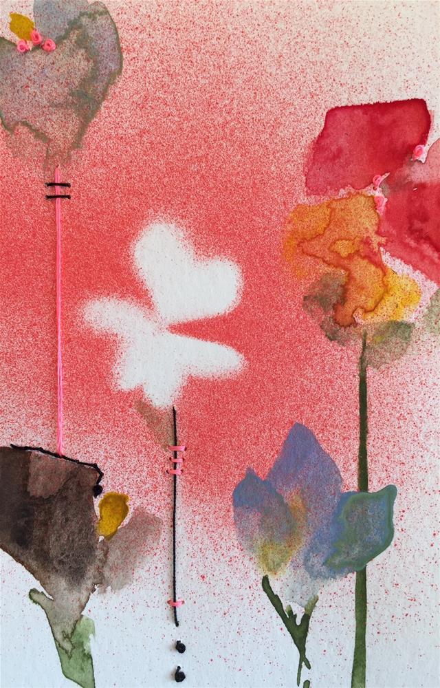 """""""196 Pick Me"""" original fine art by Jenny Doh"""