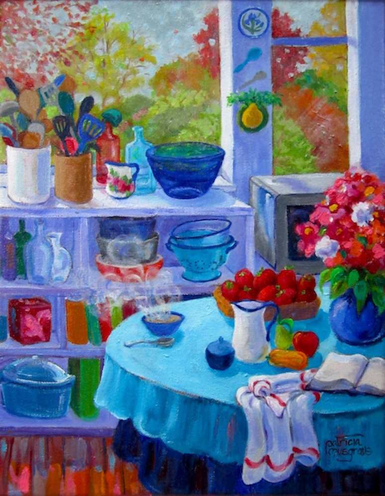 """Breakfast"" original fine art by Patricia Musgrave"