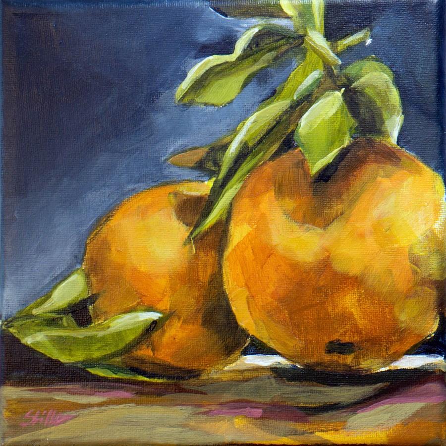 """""""2071 Tangerine"""" original fine art by Dietmar Stiller"""