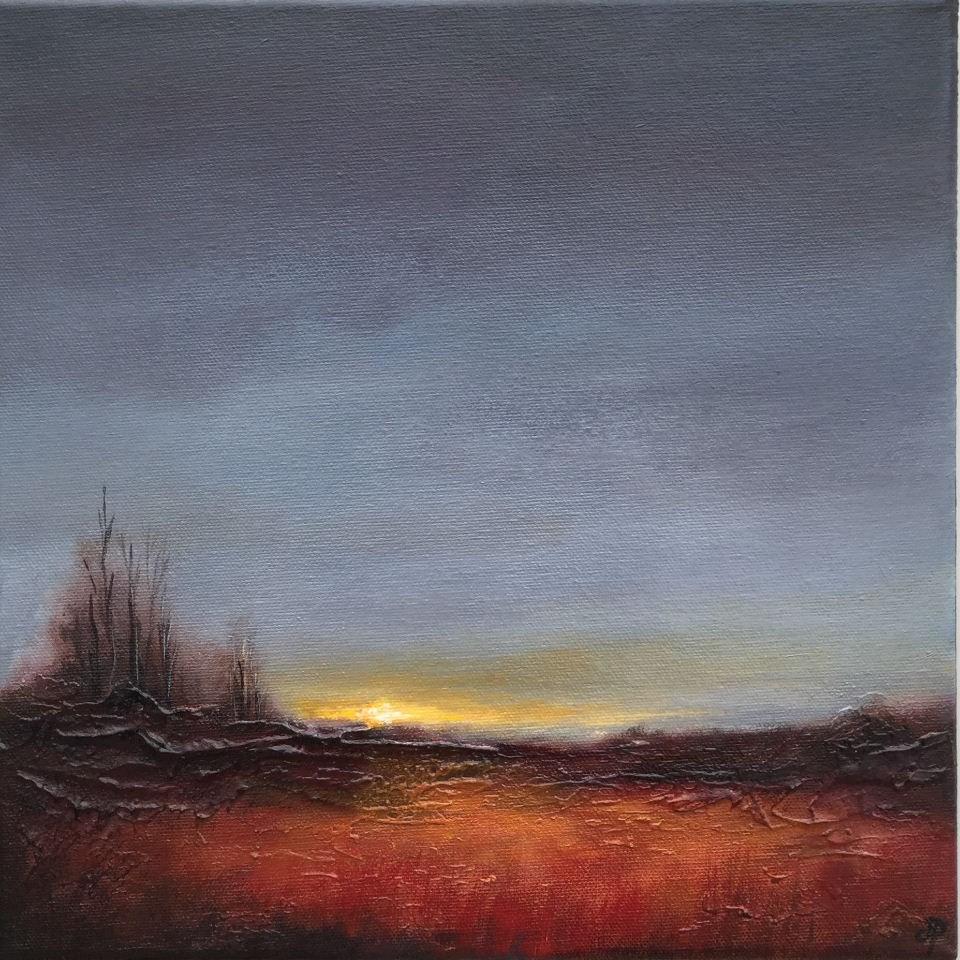 """Grey Autumn sky"" original fine art by Jane Palmer"