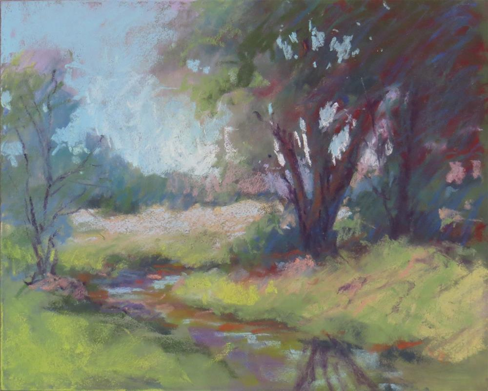 """Field & Stream"" original fine art by Marsha Savage"