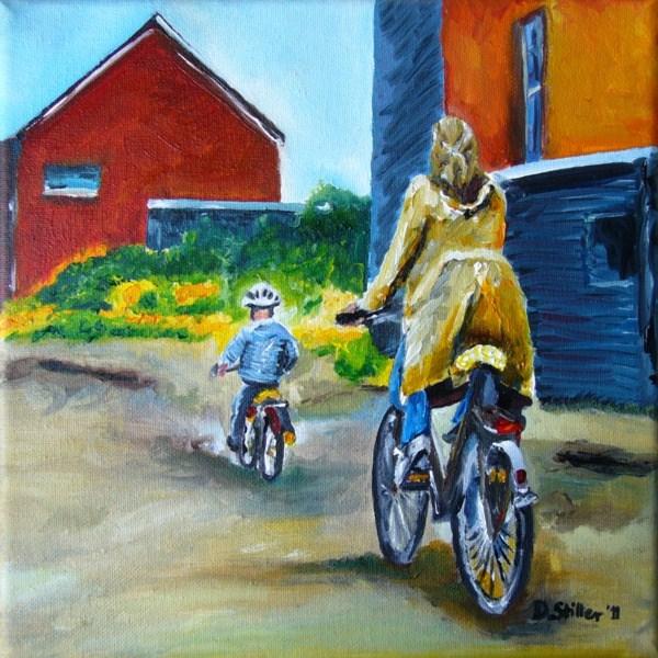 """""""0015 Heimwärts - Homebound"""" original fine art by Dietmar Stiller"""