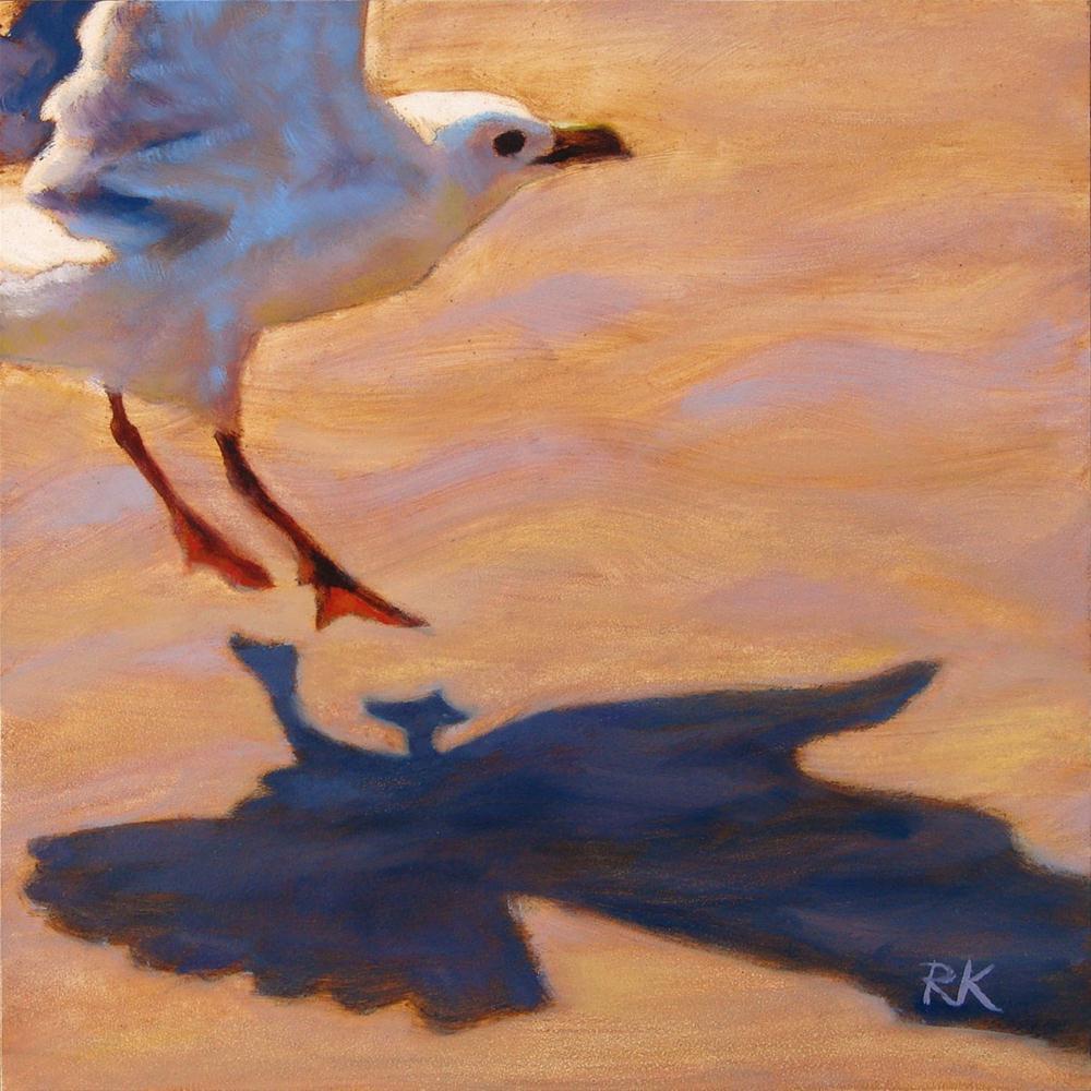 """""""A Smooth Landing"""" original fine art by Rita Kirkman"""