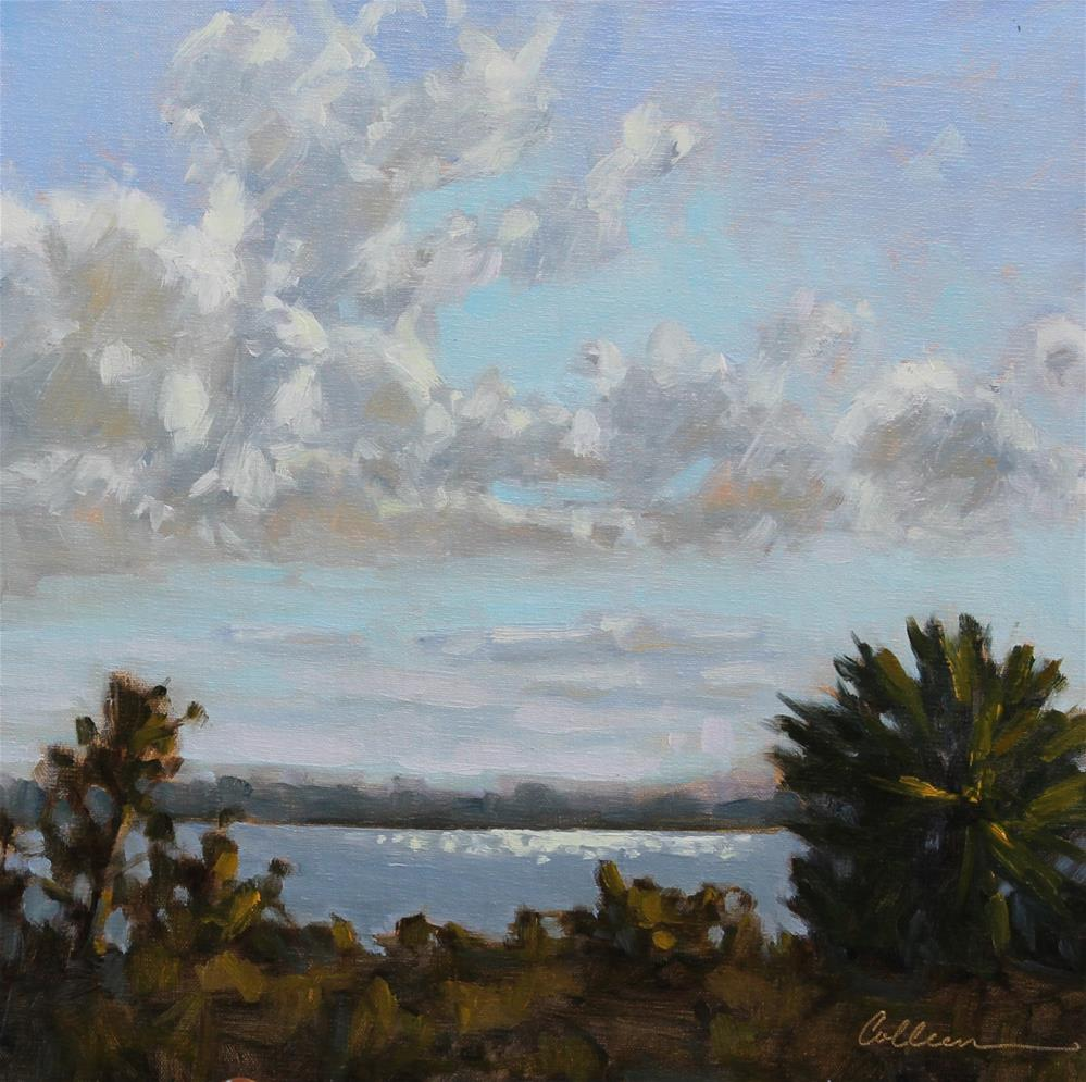 """Afternoon on the Island"" original fine art by Colleen Parker"