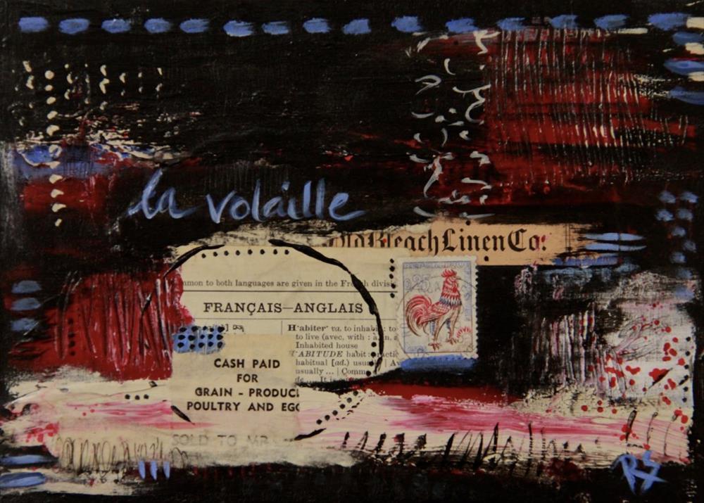 """La Volaille"" original fine art by Roberta Schmidt ArtcyLucy"