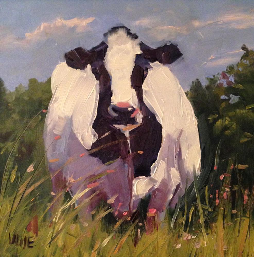 """#113 Welcome To Vermont"" original fine art by Patty Voje"
