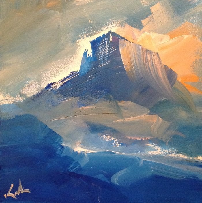 """""""Above All Things"""" original fine art by David Kuhn"""