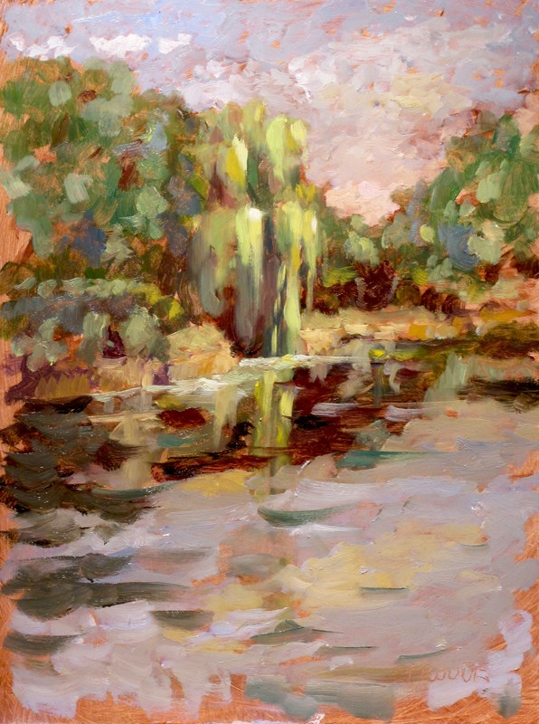 """""""Willow"""" original fine art by Dave Froude"""