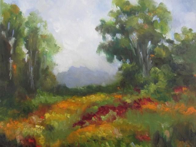 """Late summer symphony (study)"" original fine art by Astrid Buchhammer"