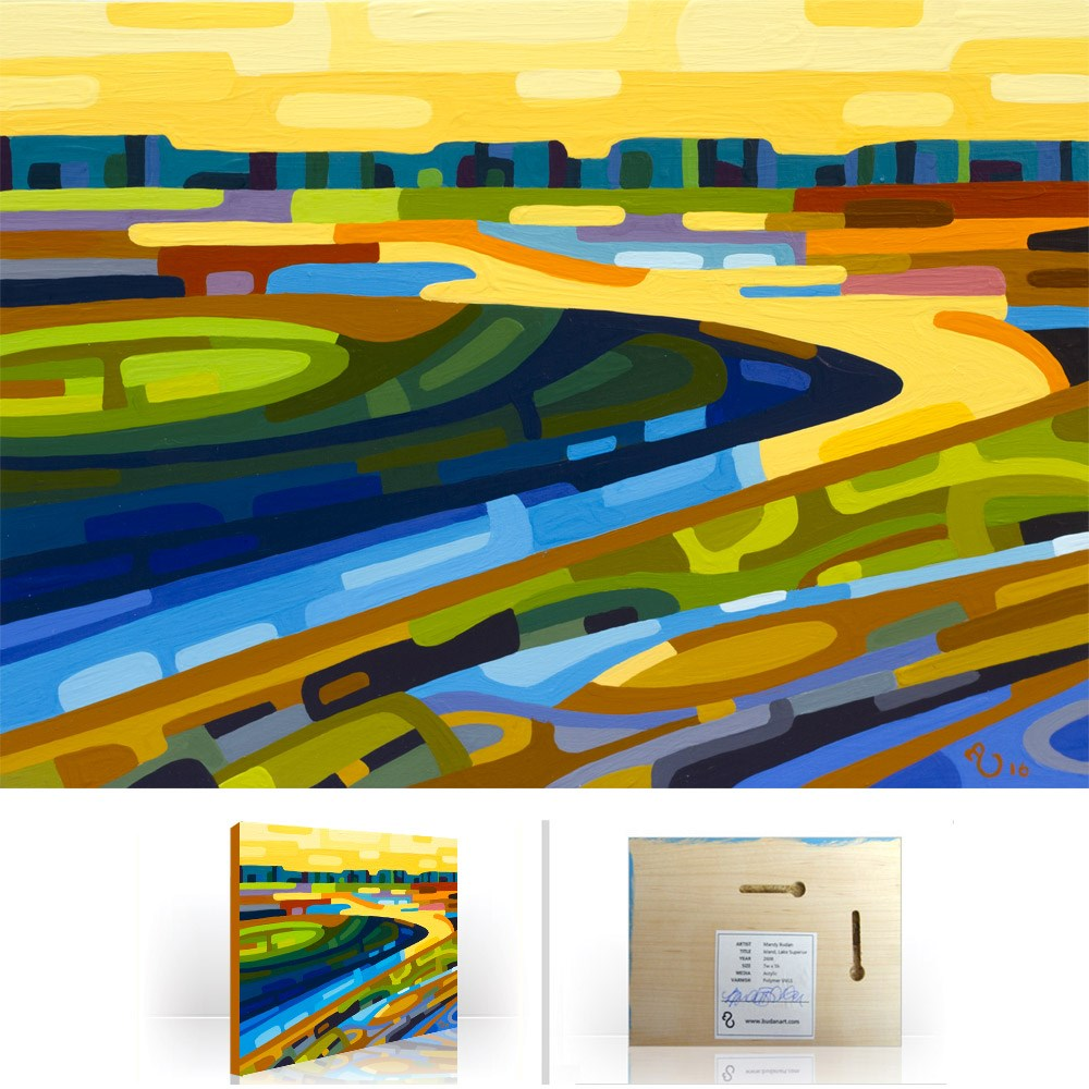 """Landscape Study #94"" original fine art by Mandy Budan"