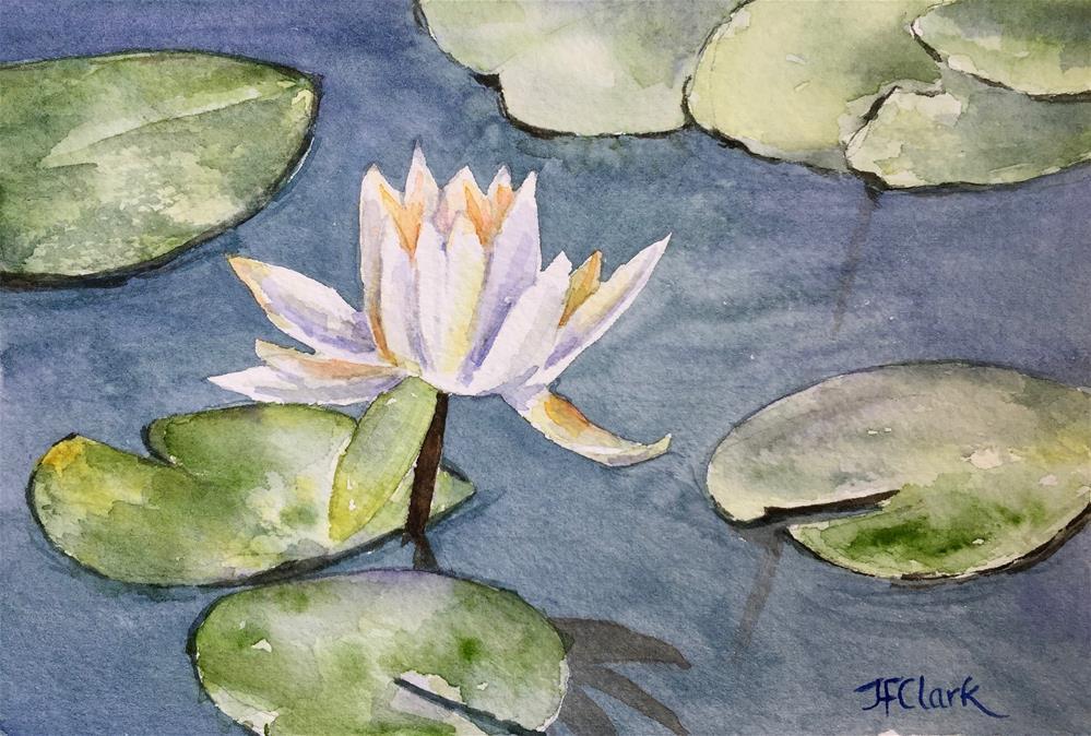 """Considering Monet"" original fine art by Judith Freeman Clark"