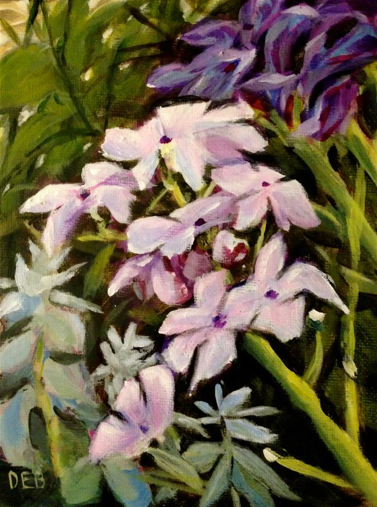 """Flowers from Connie's Garden"" original fine art by Debbie Yacenda"
