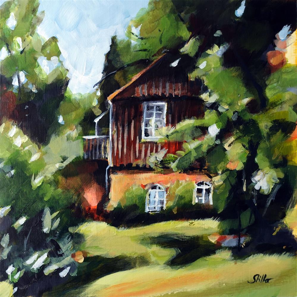 """""""3630 Nun's House"""" original fine art by Dietmar Stiller"""