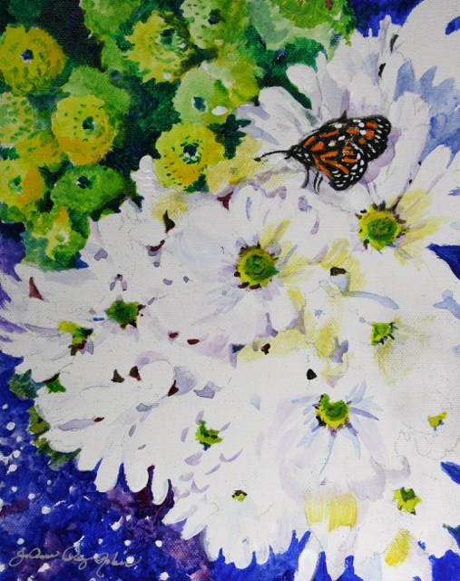"""Nicest Place along the Trip"" original fine art by JoAnne Perez Robinson"