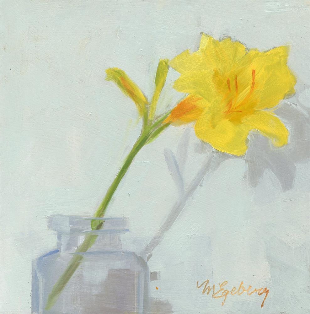 """Second Bloom"" original fine art by Mitch Egeberg"