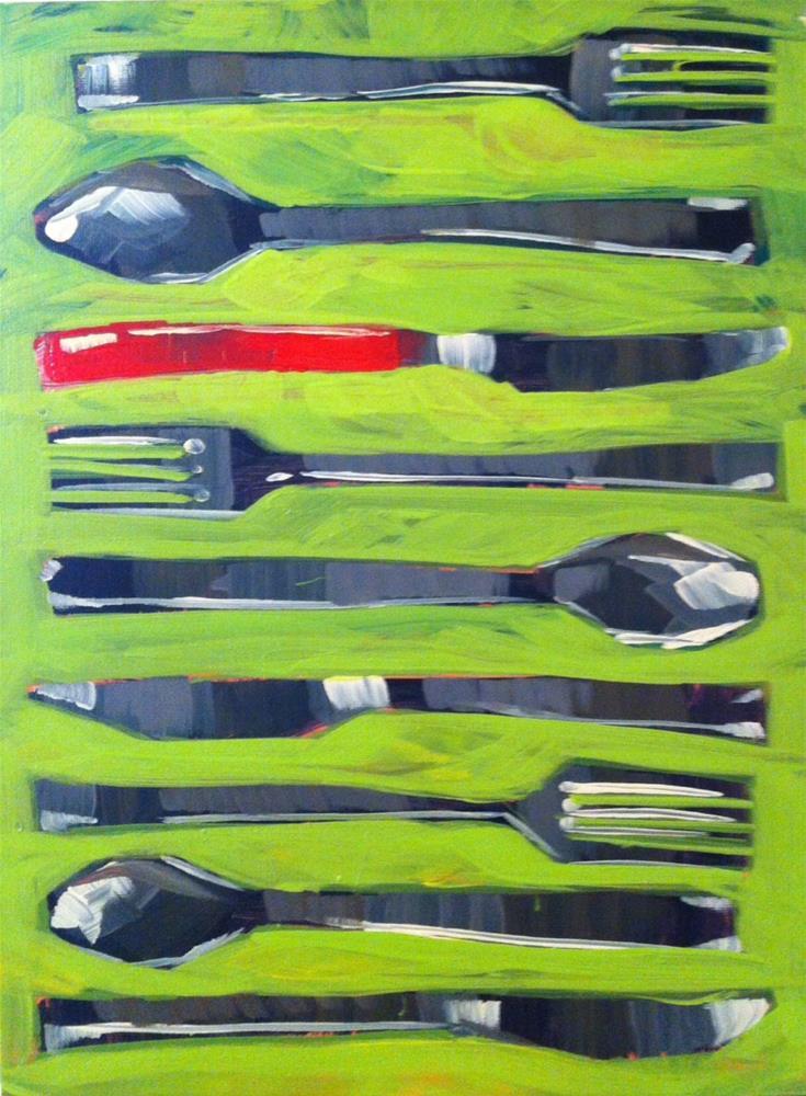"""""""Choose your weapon"""" original fine art by Teddi Parker"""