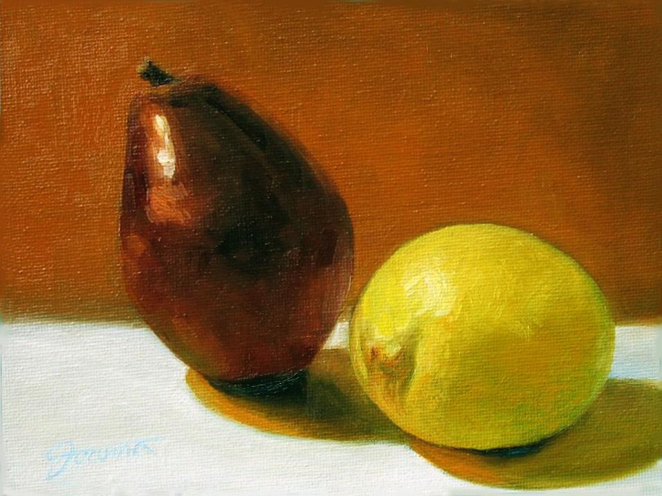 """Sweet and Sour"" original fine art by Joanna Bingham"