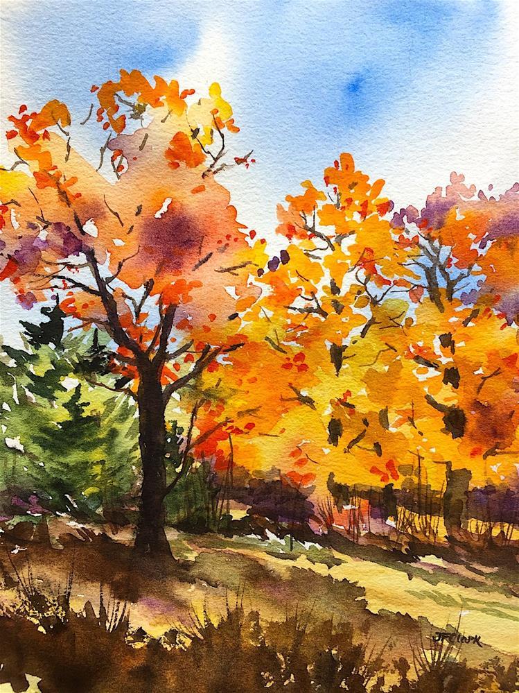 """New England Colors"" original fine art by Judith Freeman Clark"