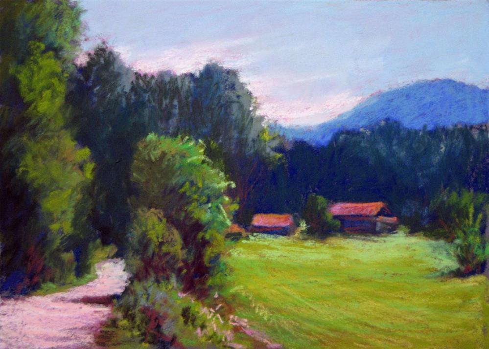 """ValleyPeace"" original fine art by Marsha Savage"
