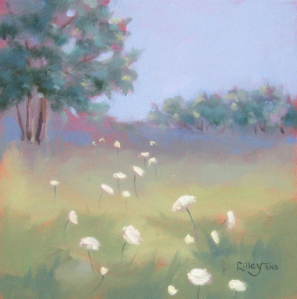 """Lace Trail"" original fine art by Maresa Lilley"
