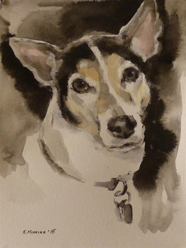 """Jake"" original fine art by Katya Minkina"
