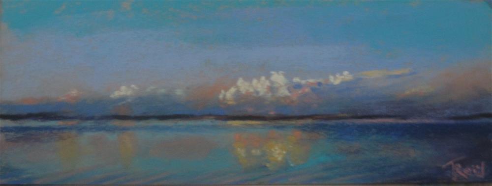 """""""Clouds #5"""" original fine art by Toby Reid"""