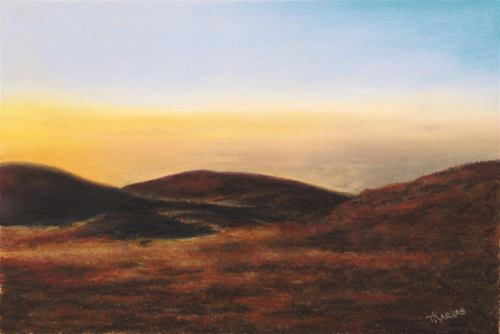 """Mission Point"" original fine art by Christina Karras"