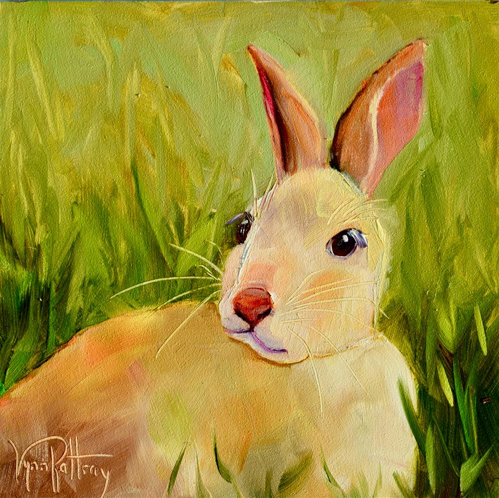 """""""Anyone Seen Alice?"""" original fine art by Lynn Rattray"""