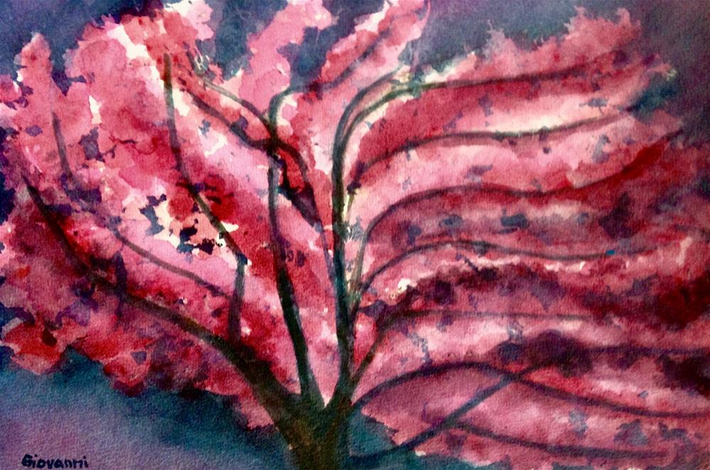 """Spring tree"" original fine art by Giovanni Antunez"
