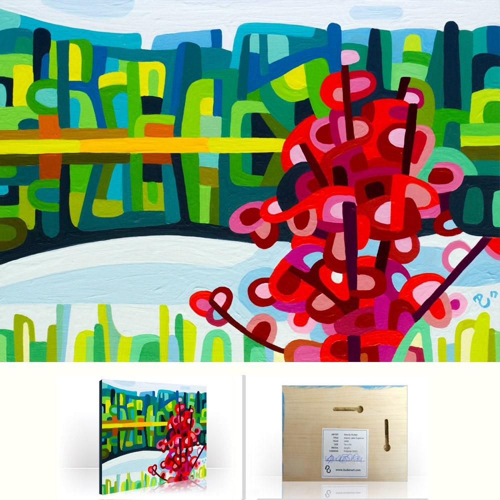 """Landscape Study #116"" original fine art by Mandy Budan"