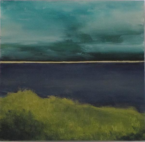 """Sandbar"" original fine art by christina glaser"