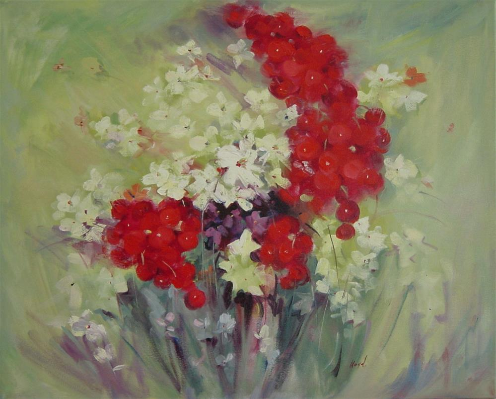 """""""Summer"""" original fine art by Diane Lloyd"""