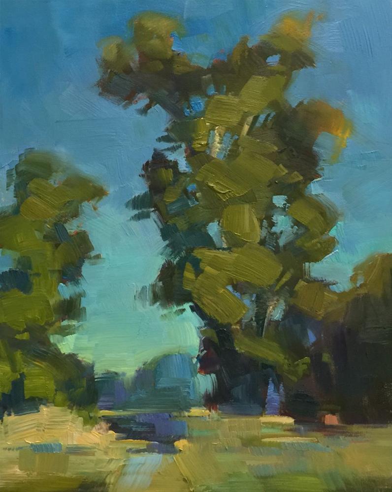 """""""The Talking Trees"""" original fine art by Patti McNutt"""
