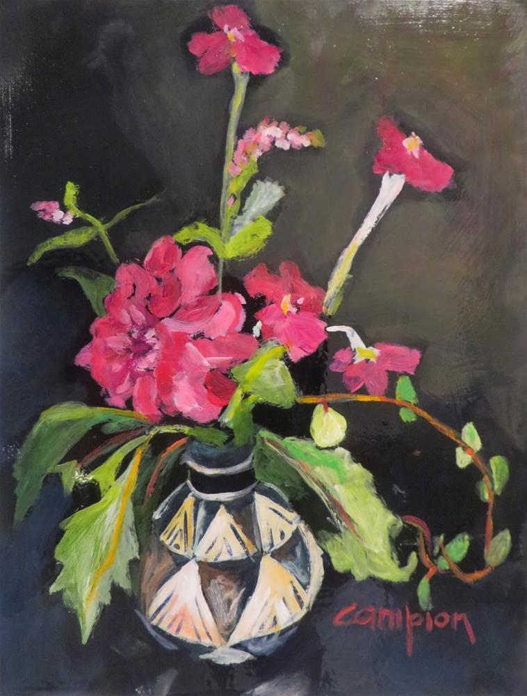 """688 Veronica, Dalia, and Rose"" original fine art by Diane Campion"