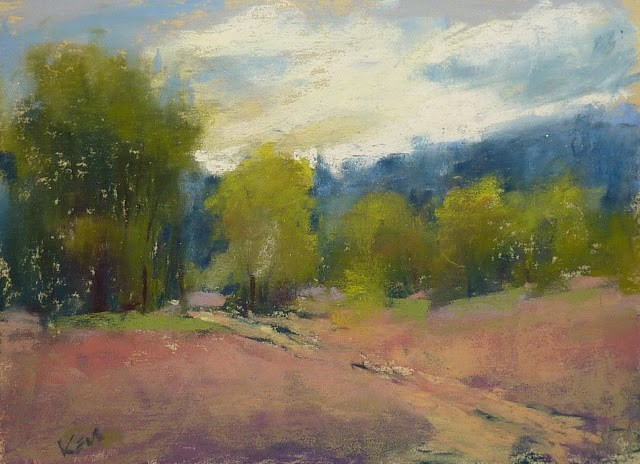 """""""Reviewing a Month of Plein Air Workshops....New Mexico!"""" original fine art by Karen Margulis"""