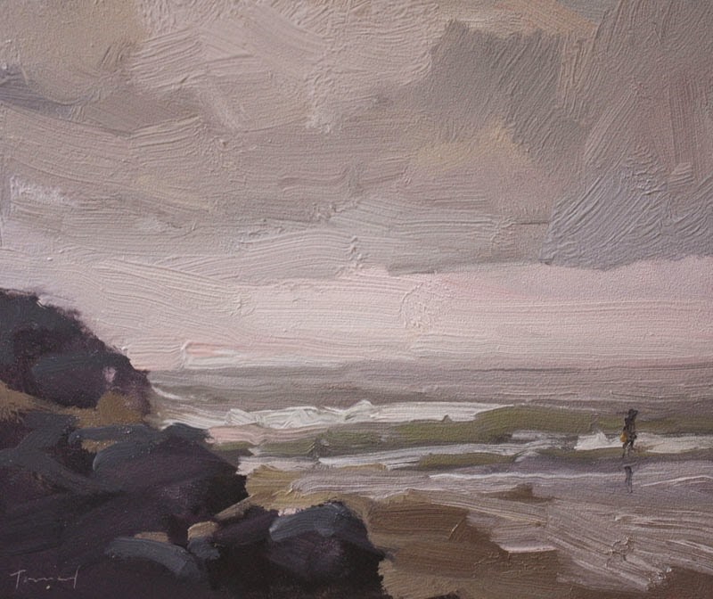 """In the Mist - SOLD"" original fine art by Kathryn Townsend"