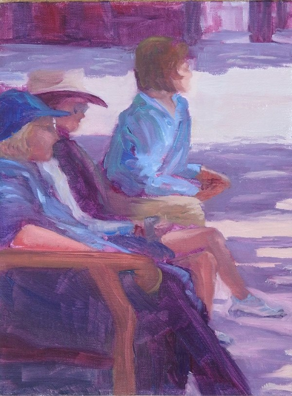 """Plein Air Gab Fest"" original fine art by Jane Frederick"