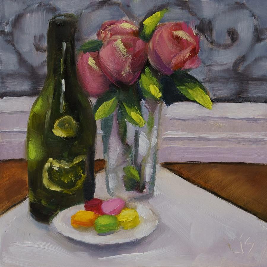 """""""Valentines Day Memory"""" original fine art by Johnna Schelling"""