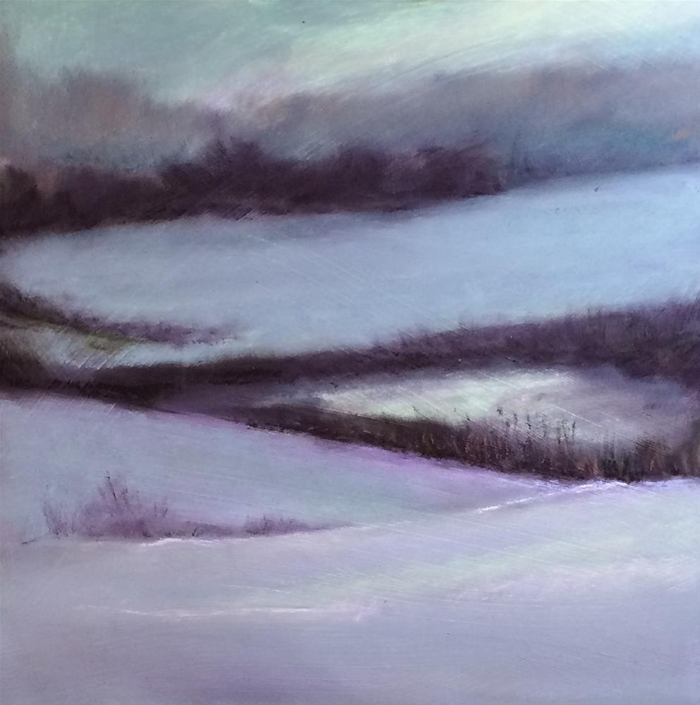 """Stratham Field"" original fine art by Cristine Kossow"