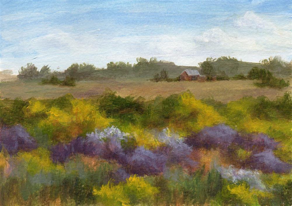 """Further Afield"" original fine art by Debbie Shirley"
