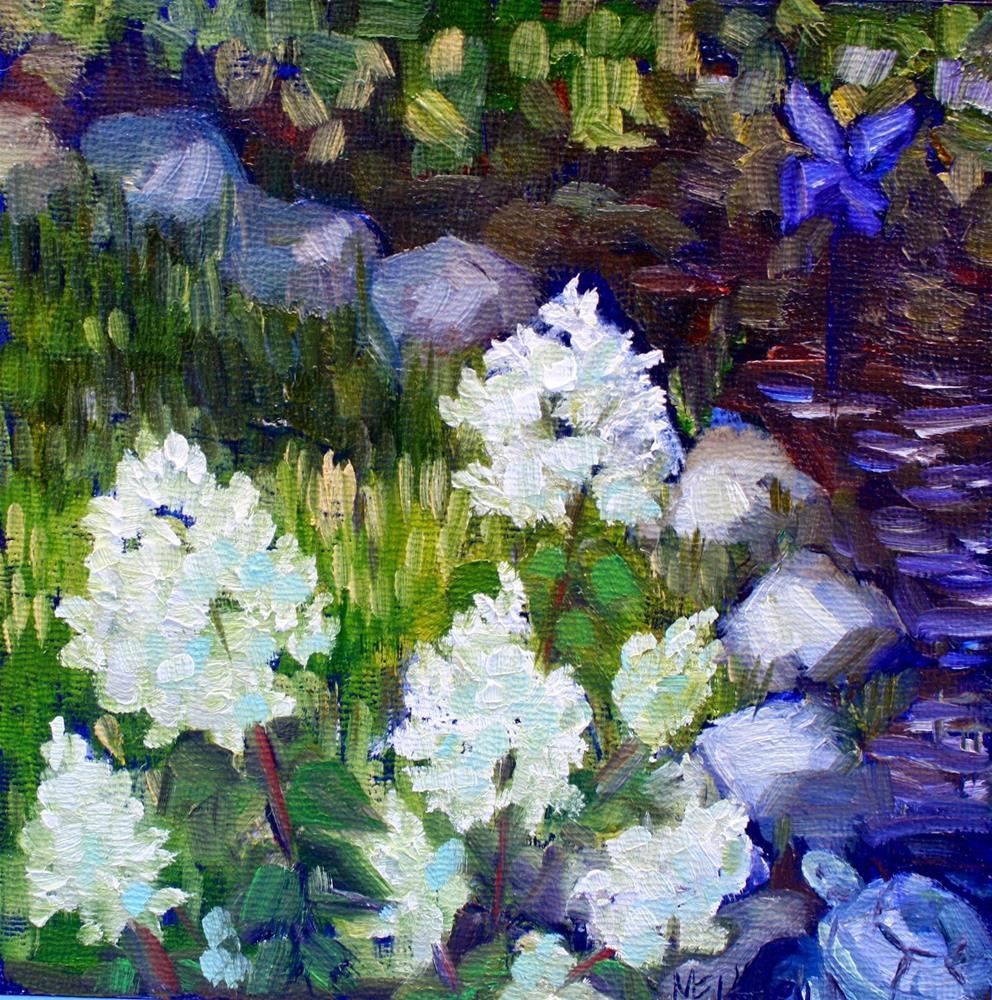 """Turtles and Pinwheels"" original fine art by Maggie Flatley"