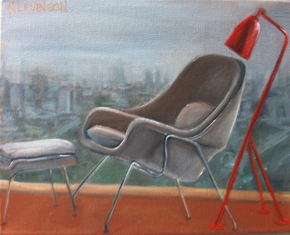 """My Nod to The Classics"" original fine art by Nancy Levinson"