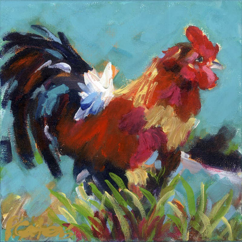 """White Tail"" original fine art by Pamela Gatens"