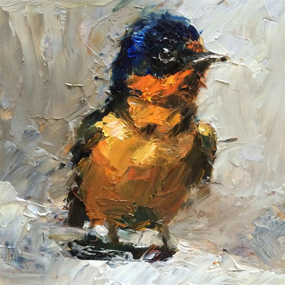 """bird#1"" original fine art by Anny Kong"