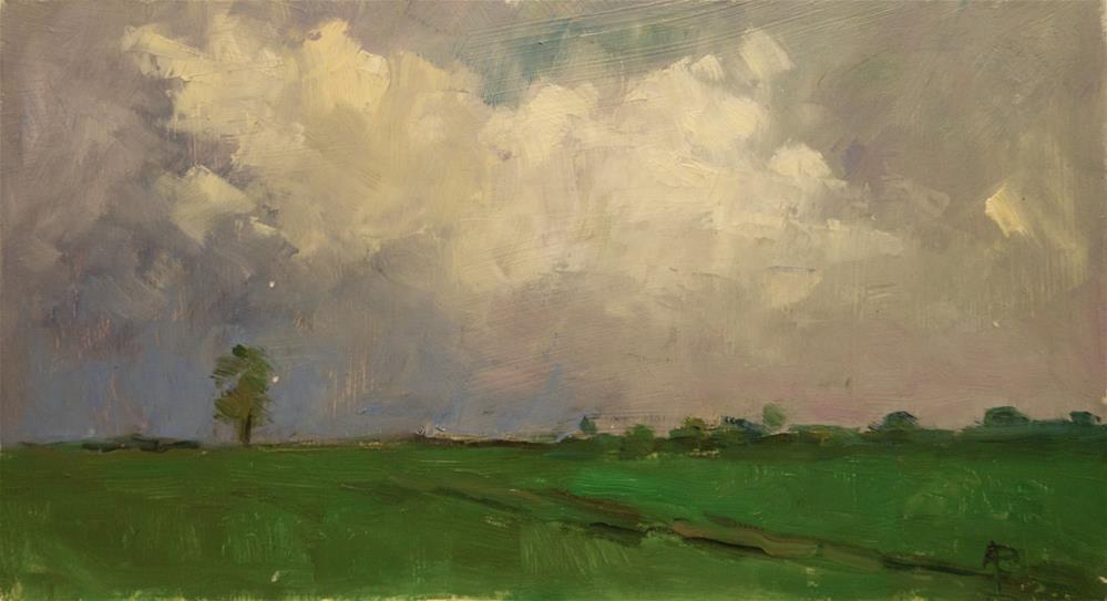 """Grey Skies"" original fine art by Andre Pallat"