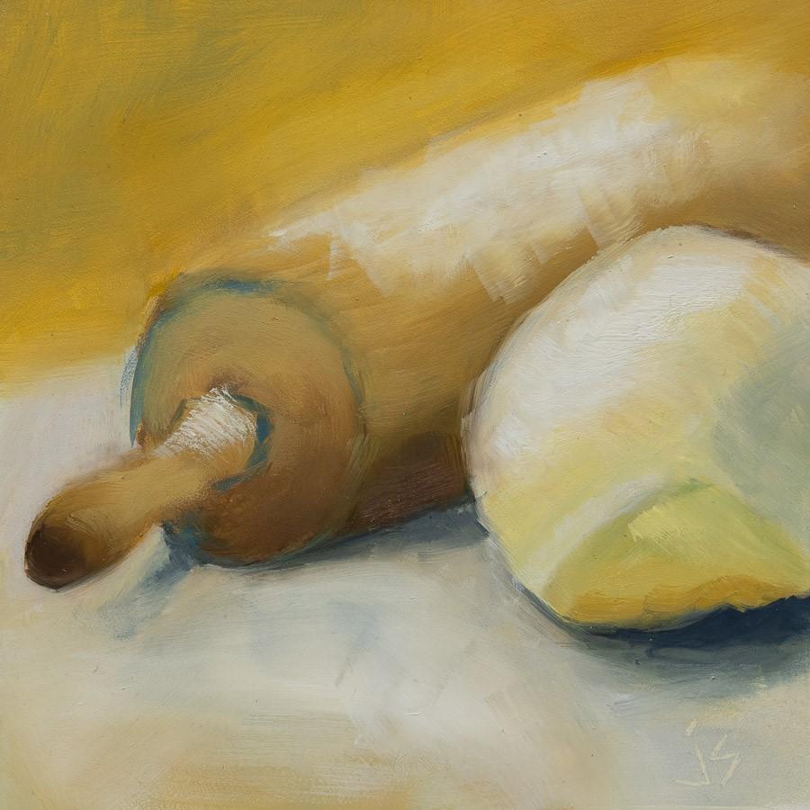 """""""Bread 101"""" original fine art by Johnna Schelling"""